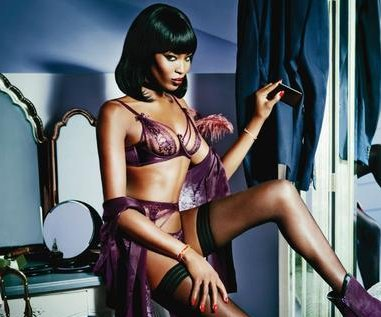 Naomi Campbell named new face of Agent Provocateur