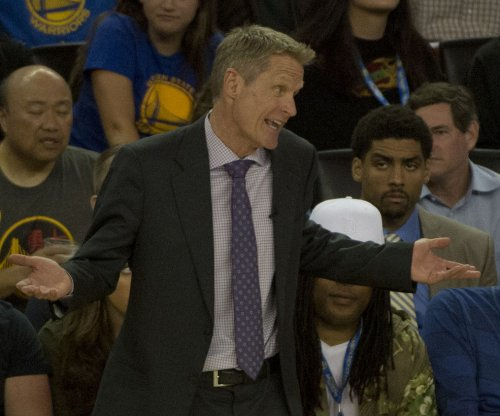 Golden State Warriors' Steve Kerr named NBA Coach of the Year