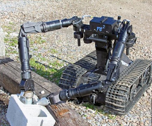 Newly developed EOD robot delivered to Army