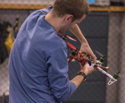 Scientists train drones to land on moving targets