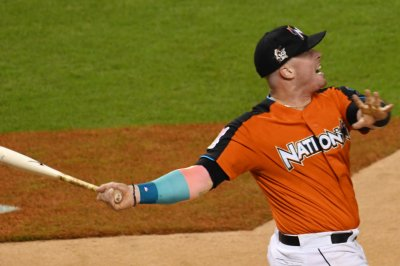 No more Justin Bour as Miami Marlins continue series vs. New York Mets