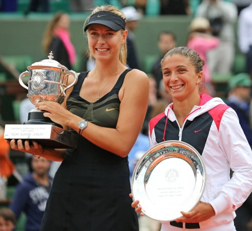 Sharapova, Azarenka 1-2 in women's tennis