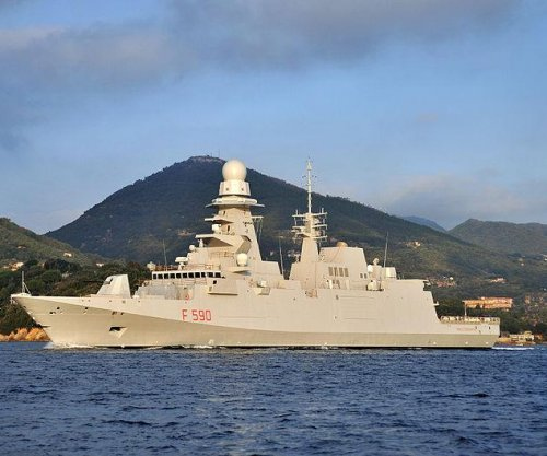 Italian Navy takes delivery of FREMM frigate