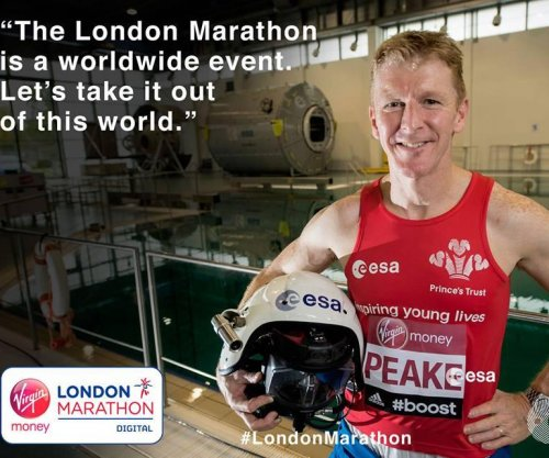British astronaut to run London Marathon in space