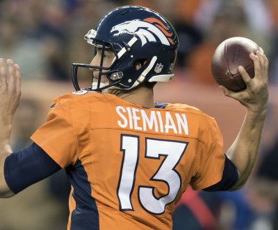 Denver Broncos QB1 Trevor Siemian: 'Nobody is going to replace Peyton'