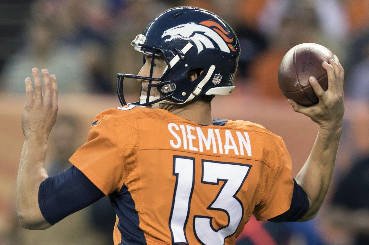 nfl WOMEN Denver Broncos Trevor Siemian Jerseys