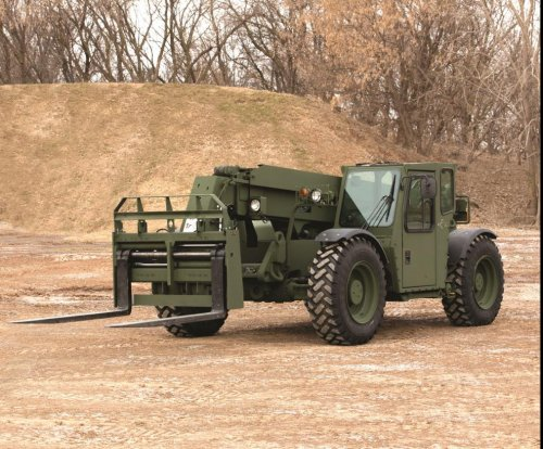 Marines approve fielding of Oshkosh extendable boom forklift
