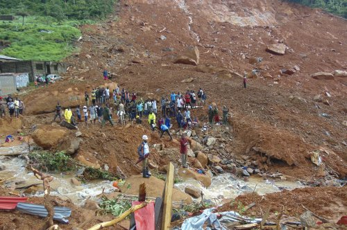 At least 461 now confirmed dead in Sierra Leone mudslide