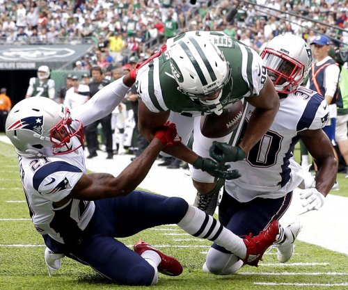 New York Jets unhappy with call against New England Patriots