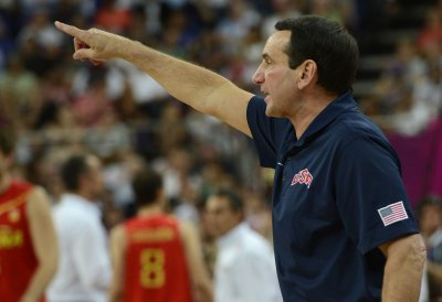 Krzyzewski to return as U.S. men's basketball coach