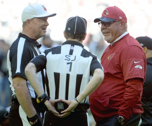 Arizona Cardinals head coach Bruce Arians loves Cardinals' depth at receiver