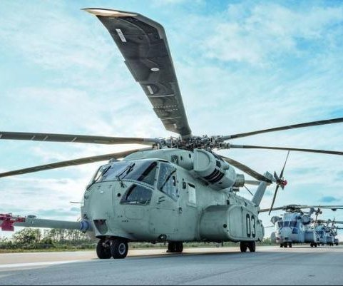 Navy updates Sikorsky contract for CH-53K aircraft