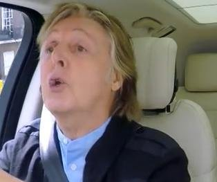 Paul McCartney sings with James Corden in Carpool Karaoke teaser