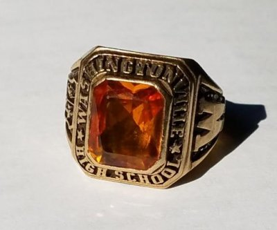 Class ring lost while waterskiing returned 49 years later