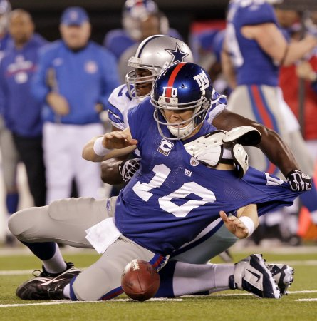 NFL: Dallas 33, New York Giants 20