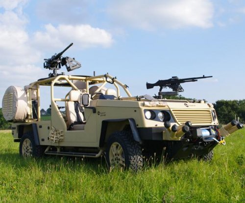 Supacat launches new light reconnaissance vehicles