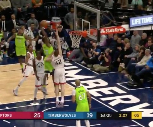 Timberwolves' Andrew Wiggins absolutely posterizes 7-footer