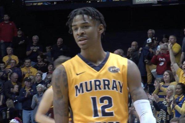 Watch Murray States Ja Morant Has Vicious Dunk Vs