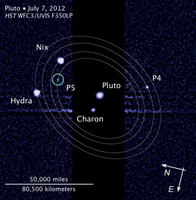 Two moons of Pluto get named, but people's choice of Vulcan ignored