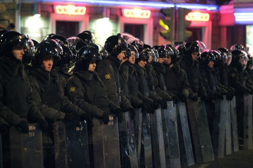 Rights group wary of Russian police action