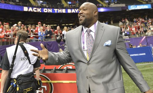 Warren Sapp says Michael Strahan doesn't belong in Pro Football Hall of Fame