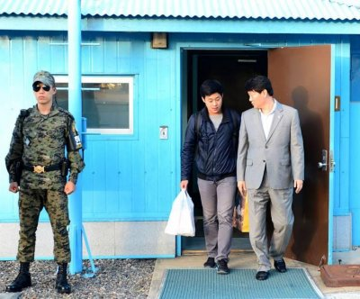 North Korea repatriates South Korean NYU student at Panmunjom
