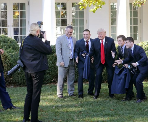 White House welcomes college champs -- with 2 notable exceptions