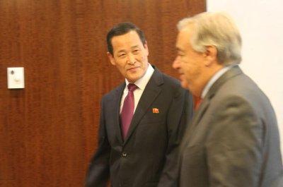 Report: North Korea ambassador lobbies for sanctions relief at U.N.