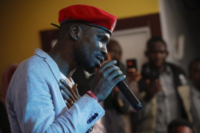 Ugandan pop star/legislator performs first concert since jailing for treason