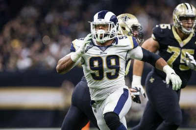 Rams' Aaron Donald calls it 'a plus' to be at training camp after contract disputes