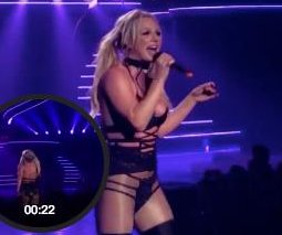 Britney Spears sings live following lip-syncing criticism