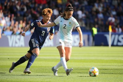 Women's World Cup: Argentina gets first-ever point, ties Japan