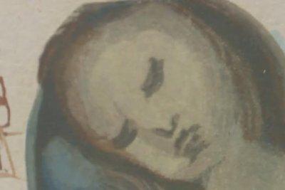 Salvador Dali wood engraving donated to North Carolina thrift store