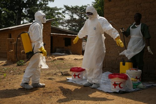 Australian aid worker awaiting Ebola test results, reportedly in good condition