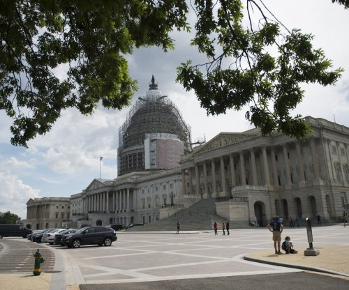 Driver in custody after ramming U.S. Capitol security gate