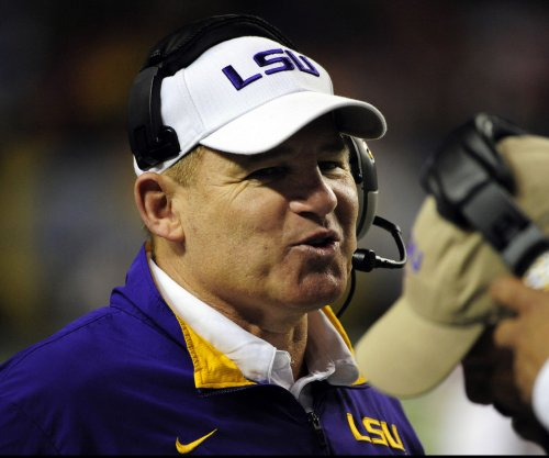LSU's Les Miles on job status: 'Going to go on to work'