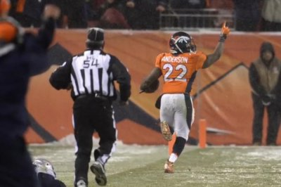 Denver Broncos' OT touchdown sends New England Patriots to first loss