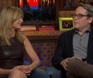 Kyra Sedgwick reveals she and Matthew Broderick dated in high school