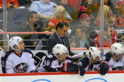 Sick dog reason for absence by Columbus Blue Jackets' John Tortorella