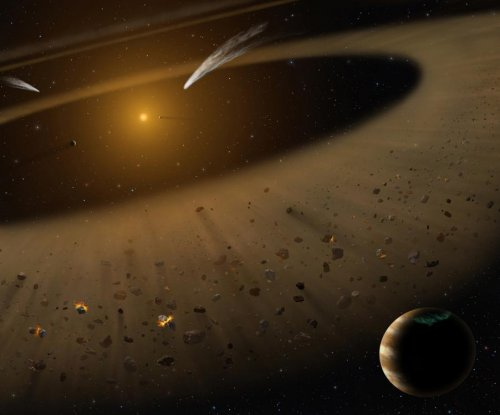 Nearby star is a good model for early solar system, new study shows