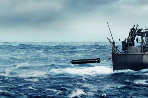 Saab displays new lightweight torpedo