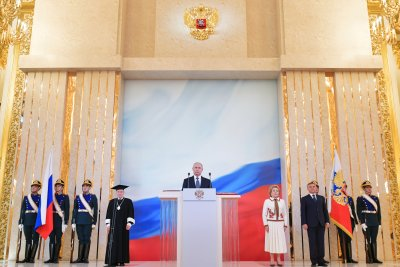 Putin sworn in for perhaps final stint as Russian president