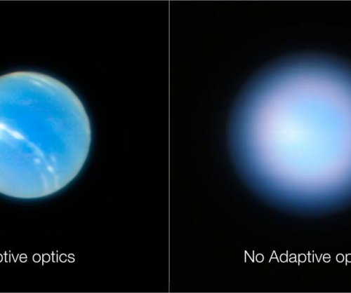 Very Large Telescope's new optics achieve super sharp images of Neptune