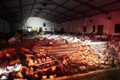 13 dead after collapse at South Africa church during Easter service