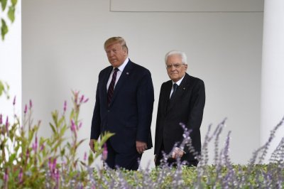 President Trump calls on Italian President Mattarella to increase NATO contributions