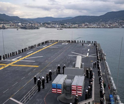 USS America arrives at new home port in Sasebo, Japan