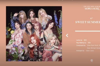 Twice shares highlight medley for 'More & More' EP