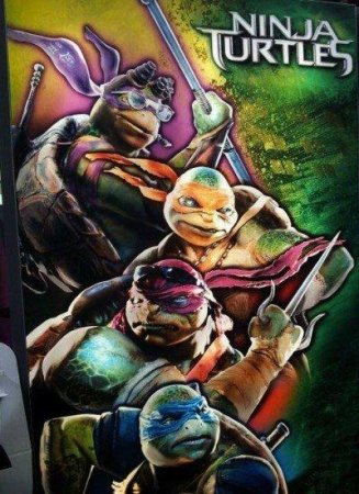'Ninja Turtles' poster allegedly unveiled