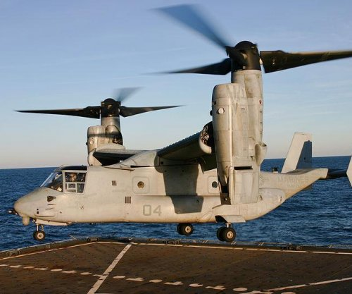 Navy taps Raytheon for V-22 Osprey support