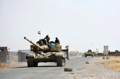 U.S.-led forces open fight to reclaim Islamic State stronghold in Iraq